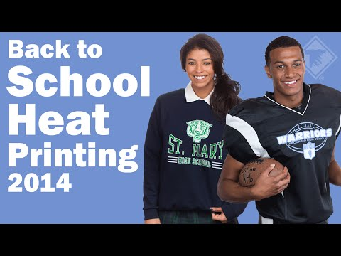 Back to School Heat Printing 2014