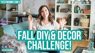 Invitiation for YOU! Fall DIY & Decor Challenge