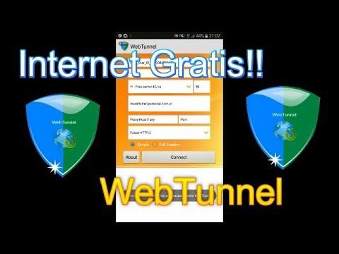 Internet Gratis De Por Vida! Personal Argentina (Método WebTunnel)