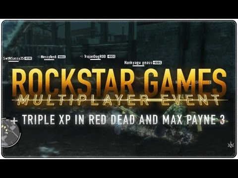 'Rockstar Games' Multiplayer Event (25/05/2013)