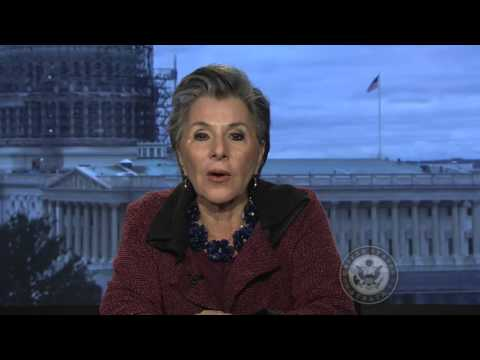 Senator Barbara Boxer Accepts Lifetime Achievement Award