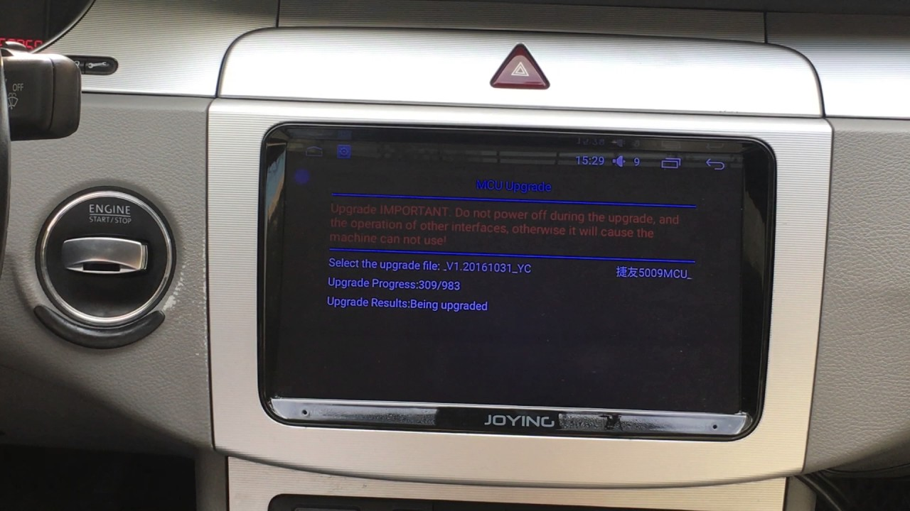 How to set up correct can-bus protocol for Joying VW Volkswagen Android  aftermarket head unit
