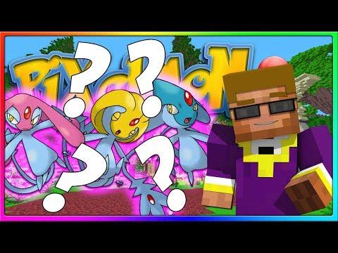 Crew Pixelmon - MY FIRST LEGENDARY SIGHTING!   Episode 7, Season 2 (Minecraft Pokemon Mod)