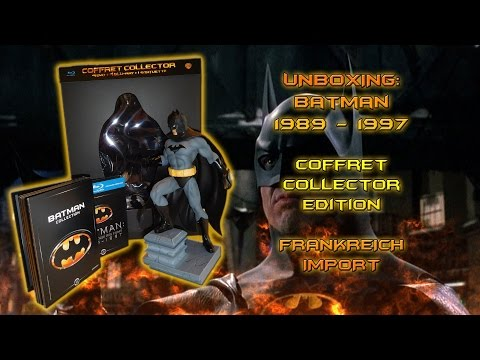 Unboxing - Batman - 1989 - 1997 - Collector´s Edition - Frankreich Import
