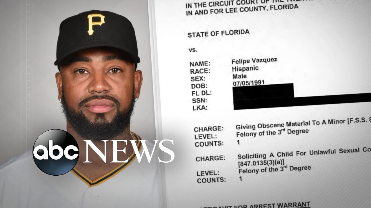 Felipe Vazquez of the Pirates Is Arrested on Child Solicitation Charges