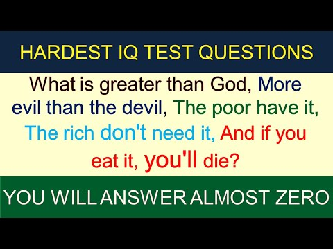 IQ test 2: IQ Questions and Answers (you will answer ...
