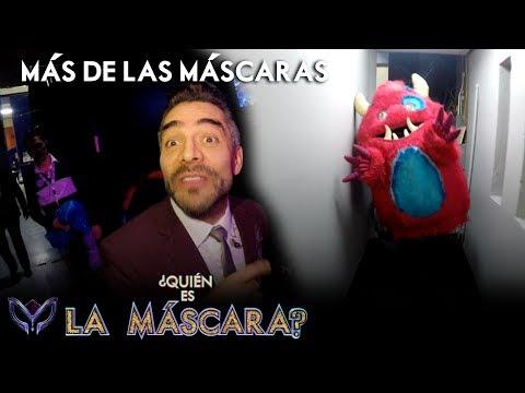 Omar Chaparro se convierte en Monstruo | ¿Quién es la Máscara?