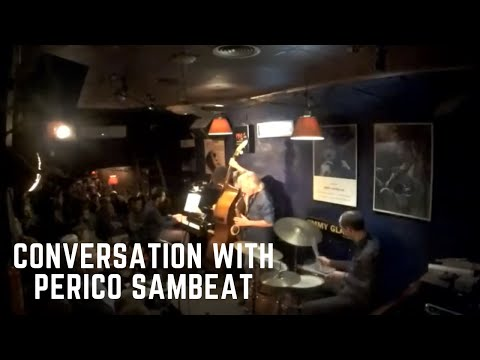 Conversation with Perico Sambeat - live@JimmyGlassJazzBar
