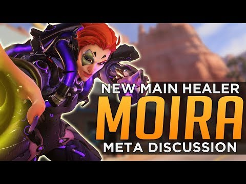 Overwatch: Moira NEW Main Healer!? - Meta Discussion