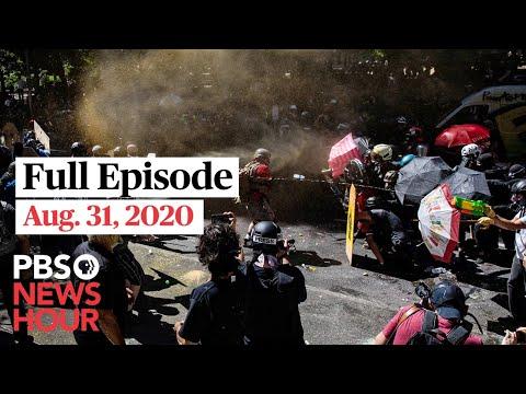 PBS NewsHour live episode, Aug. 31, 2020
