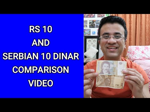 SERBIAN DINAR AND INDIAN RUPEE COMPARISON - SERBIA CURRENCY TO INDIAN RUPEE - SERBIAN DINAR TO INR