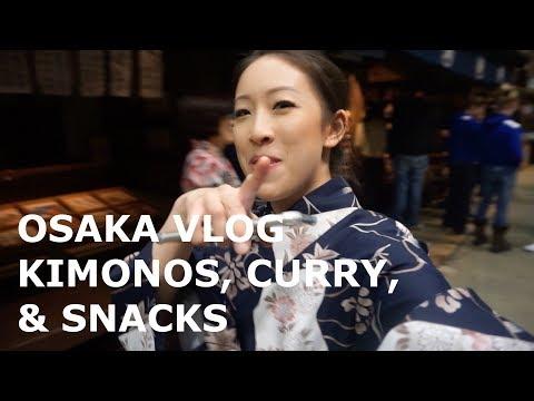 Osaka Vlog, Curry, Kimonos | Japan Pt. 5