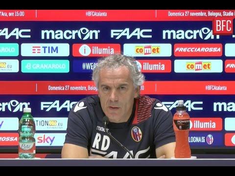 Roberto Donadoni presenta Bologna - Atalanta