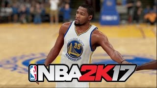 the 40 three pointer challenge   kevin durant   nba 2k17 shooting challenge