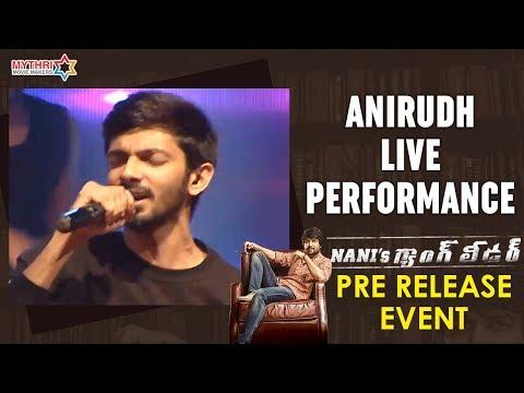 Anirudh Splendid Live Performance | Nani's Gang Leader Pre Release Event | Karthikeya | Vikram Kumar
