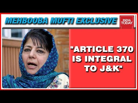 Mehbooba Mufti Exclusive With Rajdeep Sardesai On Article 370, Kashmir & Secession Mp3