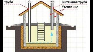 видео Как сделать вентиляцию в подвале частного дома своими руками, схемы