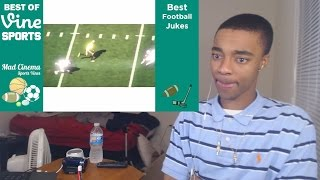 Best Football Jukes VINES of All Time REACTION!