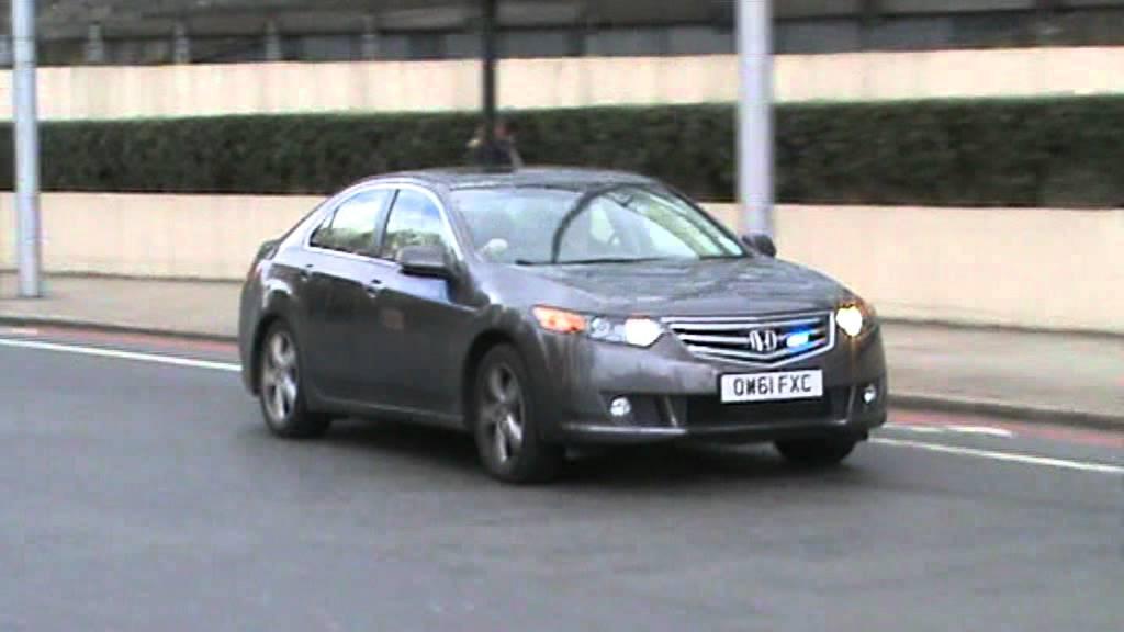 Metropolitan Police Honda Accord Unmakred Responding