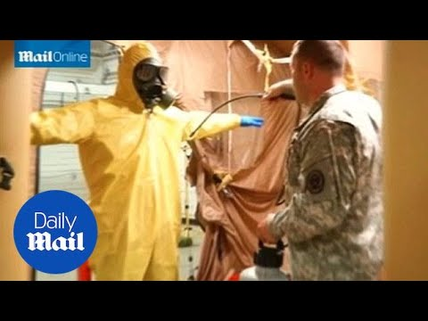 101st Airborne prepared for possible infection on Ebola deployment - Daily Mail