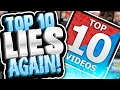 top 10 videos lies again videos he didnt want you to see