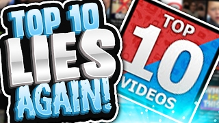 TOP 10 VIDEOS LIES AGAIN!! (Videos HE DIDN'T WANT YOU TO SEE!!)