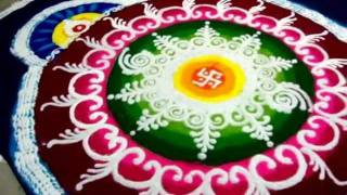 sanskar bharti rangoli, diwali 2011