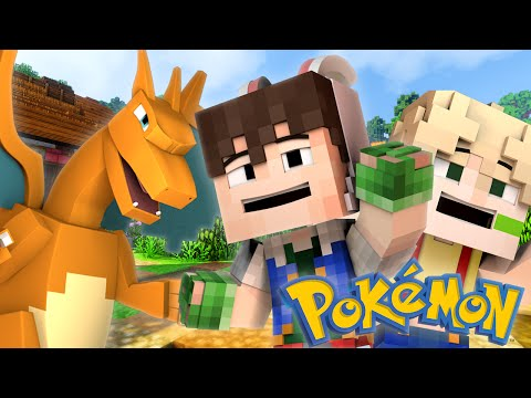 Pokemon - CRAZY BATTLE! (Minecraft Roleplay)