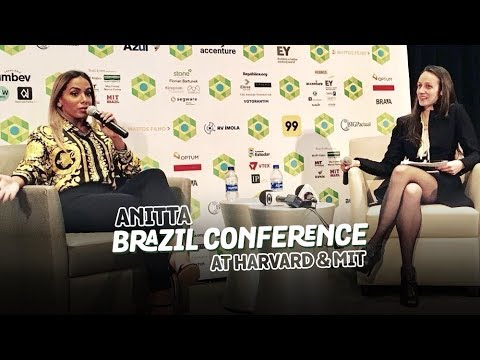 Anitta na Brazil Conference at Harvard & MIT