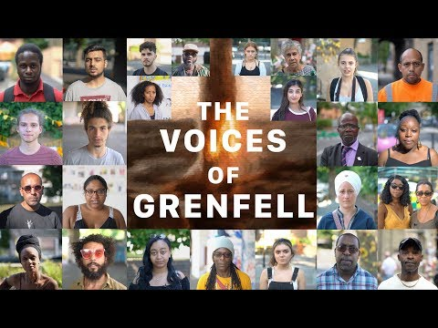 This Grenfell poem read and written by the community is a reminder of what will never be forgotten.