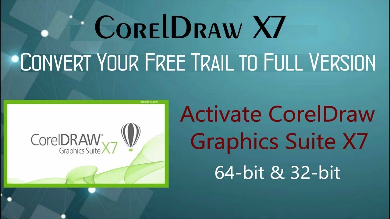 Download CorelDraw Graphics Suite X7 - Registered | PCGUIDE4U