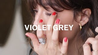 French Lessons: Violette's Smudgy Cat Eye