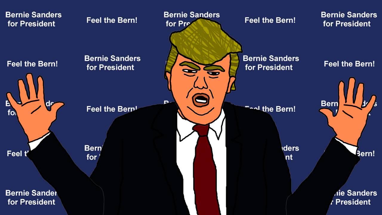 Donald Trump's Official Tax Plan. Donald Chump Cartoon ...