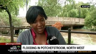 Flooding in Potchefstroom, North West