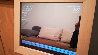 BlackMirror - smart mirror powered by Raspberry Pi3 and AndroidThings.