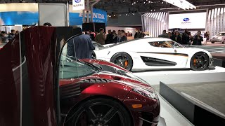 HYPERCARS AT THE AUTOSHOW! (Live Stream)