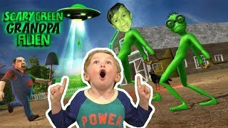 Scary Green Alien Grandpa Episode 1 Gameplay (Weird Funny Game)