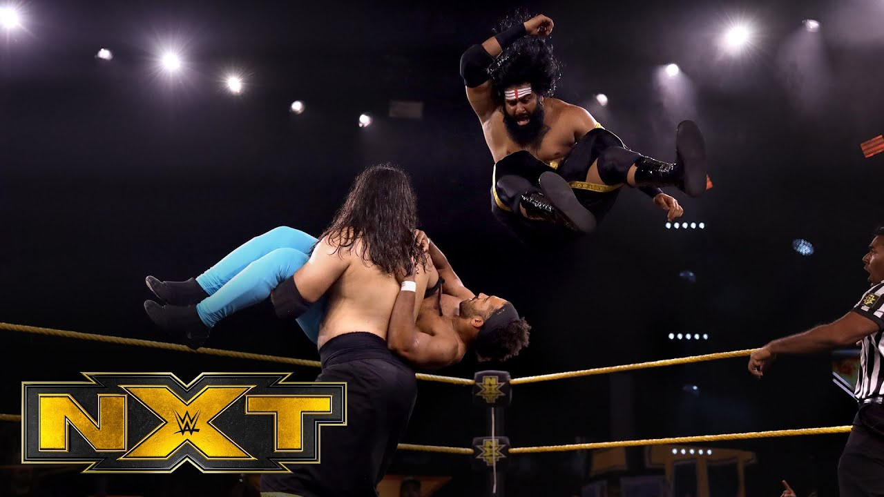 Indus Sher dominates against Mikey Delbrey & Mike Reed: WWE NXT, June 10, 2020