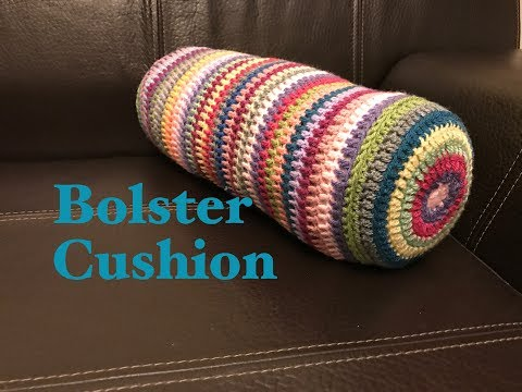 Ophelia Talks about a Crochet Bolster Cushion