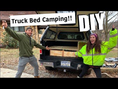 Truck Bed Camper DIY!