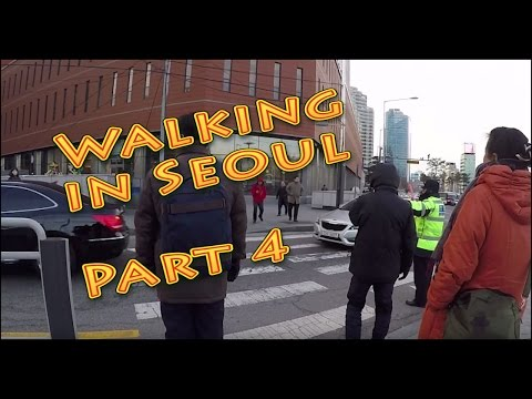 Walking in Seoul City (South Korea) Part4