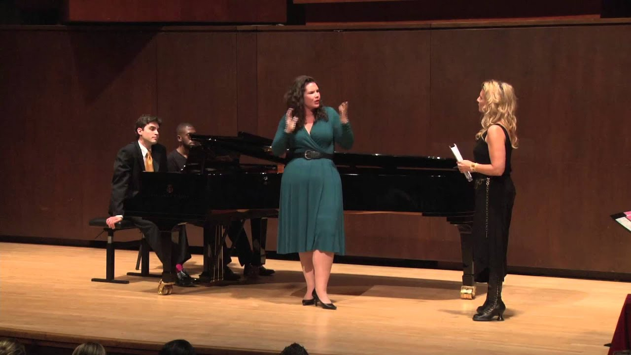 Joyce DiDonato Master Class, October 4, 2013: Lacey Jo Benter and Dan K. Kurland