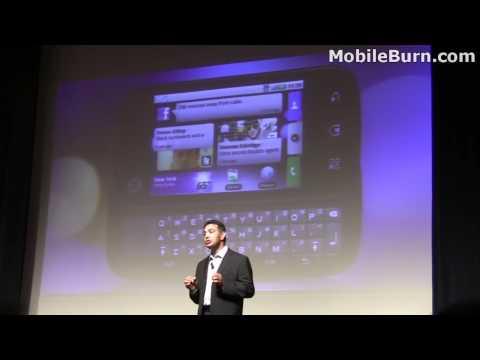 Motorola CLIQ / DEXT launch and MOTOBLUR demo