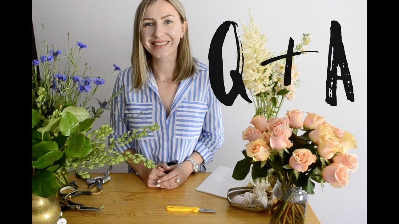Q&A ФЛОРИСТИКА. Как я стала флористом? Мой первый клиент! Где я обучалась?