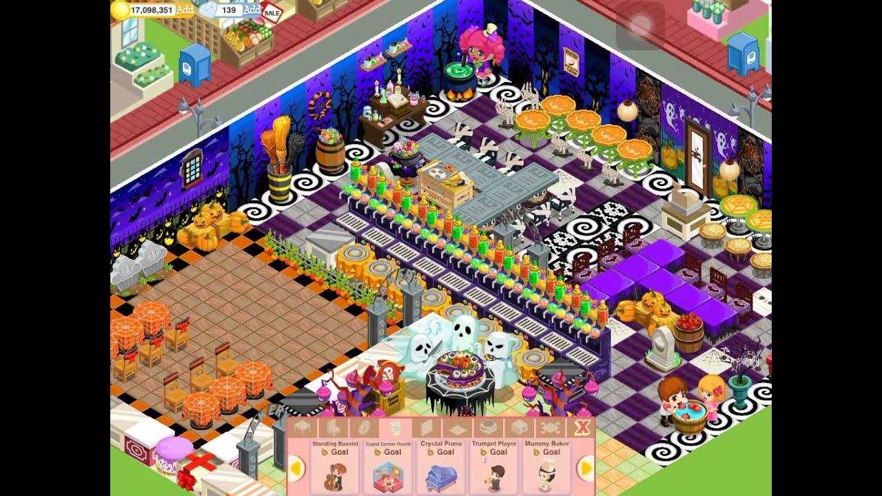 bakery story restaurant story halloween goals 001 youtube - Story About Halloween