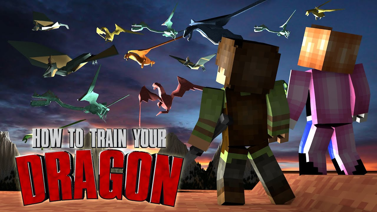 Minecraft  How To Train Your Dragon Ep 23!