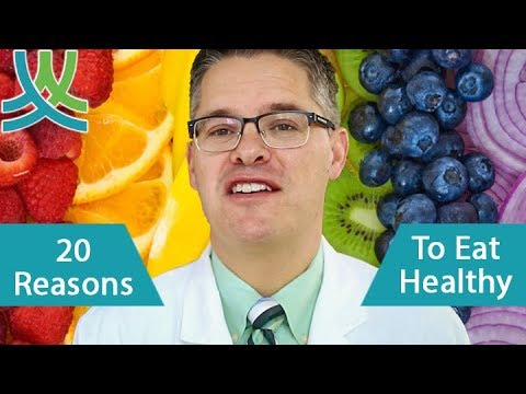 20 Reasons To Eat Healthy - Importance of Healthy Eating