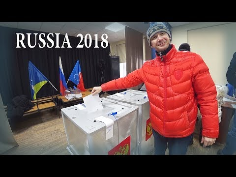How We Voted In Russia's Presidential Election 2018. Inside Real Russian Polling Station