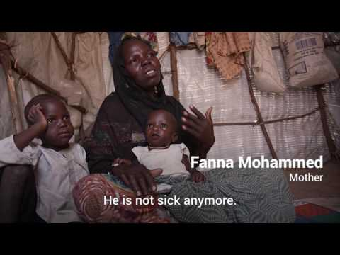 See how a baby recovers from malnutrition in conflict-hit Nigeria | UNICEF thumbnail
