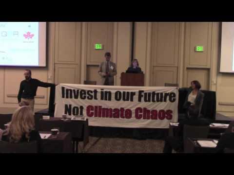 Oil Shale Symposium Disruption